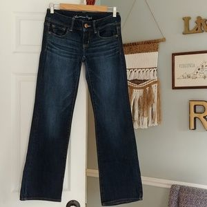 AE slim boot jeans